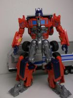 Optimus Prime Custom Movie style by forever-at-peace