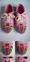 Powerpuff shoes by Skiofit