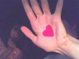 Hand heart by Bluefire113