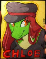 Chloe Badge by strawberryneko33