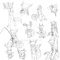Lue Sketches by DreamDisc