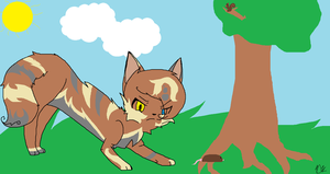 Treepaw is Hunting a Mouse by BLlNK