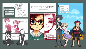 Now Doing Commissions! by In3ity