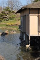 Japanese water-front house 1 by xim0nfir3x