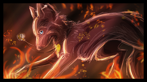 AT: Feuer und Flamme by Blackwolfpaw