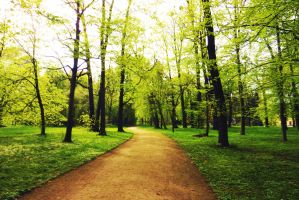 green path by SaphiraSwirl