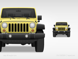 Icon - Jeep Wrangler by hehedavid
