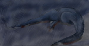 ...The Death of Littlefoot's Mother... by Warriorsorganic