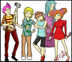 Humanized Toys: Fraggle Rock by Sniper-Huntress