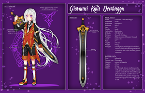 CS: Giovanni Kalis Dewangga by chroma-kun