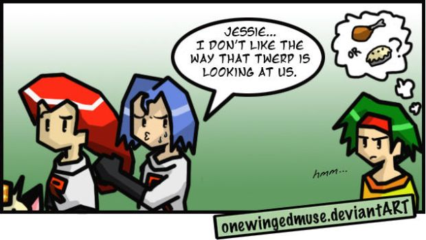 PKMN: Staring Comic by OneWingedMuse