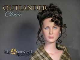 Outlander Claire by my-immortals