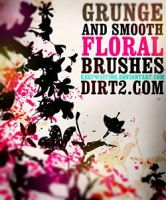 Floral Photoshop Brushes by Kevinleyrobinho