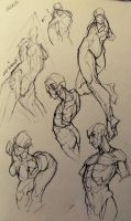 022/365 - Figure sketches by NesoKaiyoH