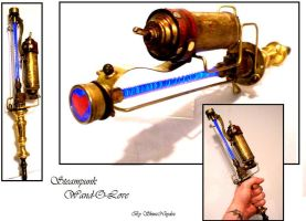 Steampunk Techno Wand by Skinz-N-Hydez