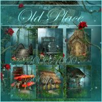 Old Place small pack backgrounds by moonchild-ljilja
