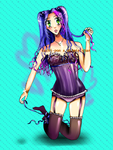 (reduced price + bonus!) Corset Girl by Sachi-pon