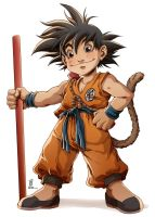 Son Goku by DewNoir
