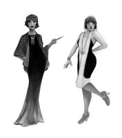 1920's fashion by Designer-27