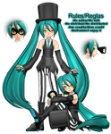 Animasa Joker Miku (DL)(Update) by Akisuky-san