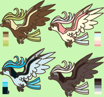 Pokemon Adopts Batch(2)- Pidgeot *2 LEFT* by Void-Adoptables