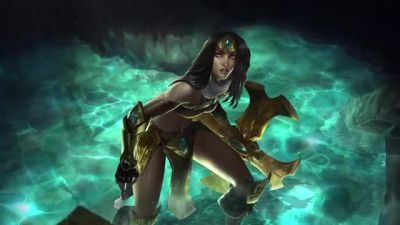 Shurima: Rise of the Ascended. Sivir Standing by Don-Pitayin