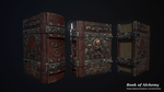 The Book of Alchemy - 3D game model by FuriKar