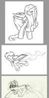 Pony Doodles by Call-Me-Jack