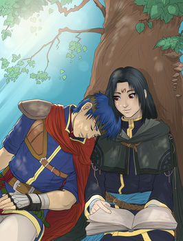 Ike and Soren by Autumn-Sacura