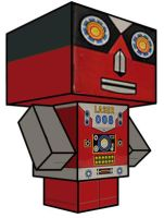 Cubee - Toy Robot 10 by 7ater
