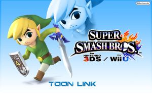 Toon Link - Super Smash Bros 2013 by Link-LeoB