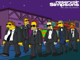 Reservoir Simpsons by elfiodor