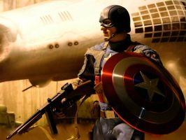 Captain America - Infiltrate Hydra by Riebeck