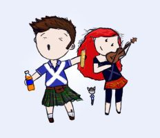 Brother and Sister Scotland by my-ain-sel