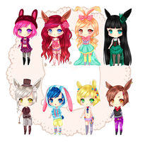 Easter Adopt Auction - CLOSED by NietteAdopts