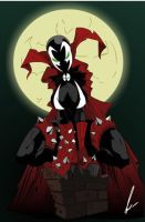 spawn girl by Nuea