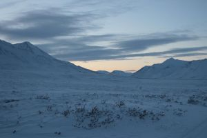 Snowy mountains 2 by Arctic-Stock