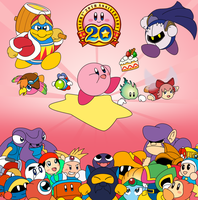 Happy 20th Birthday Kirby by DreamlandMessenger