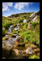 Waterfall to Storr by livegroban