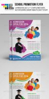 School Promoting Flyer Template by jasonmendes