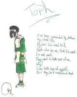 Toph Bei Fong by RikuFanGirl