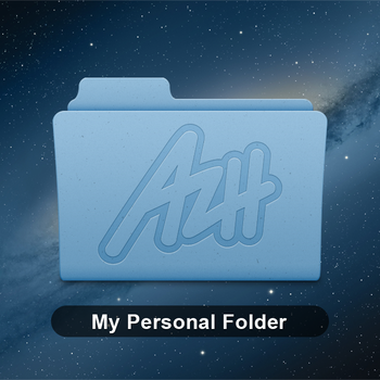 Personal Folder - Custom OSX Icon by azhvectorproject