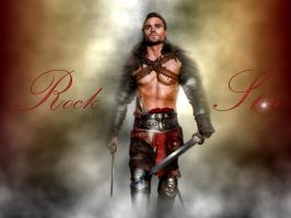 Gannicus - Rock Star by ARTbyKLIPP