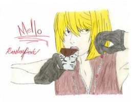 Mello - Death Note - by RandomPanic