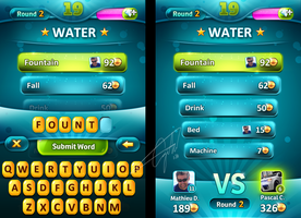 Casual Word Game UI v2 by Forza27