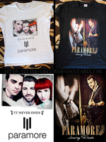 T-shirts- Paramore by Little--Decoy