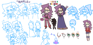 Mairle Character Study by The-Knick