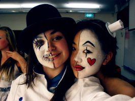Mad Hatter and Queen of Hearts by toffXD