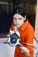 Portal - Chell by lAmikol