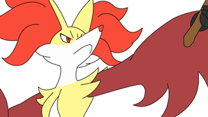 Base 10: Delphox 1 by TheGreatPikminZX